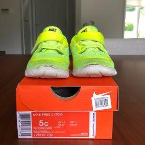 Nike Free 5 (TDV) w/ Box